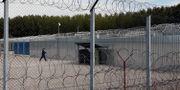 Inhägnad transitzon vid Ungerns gräns Darko Vojinovic / TT NYHETSBYRÅN/ NTB Scanpix