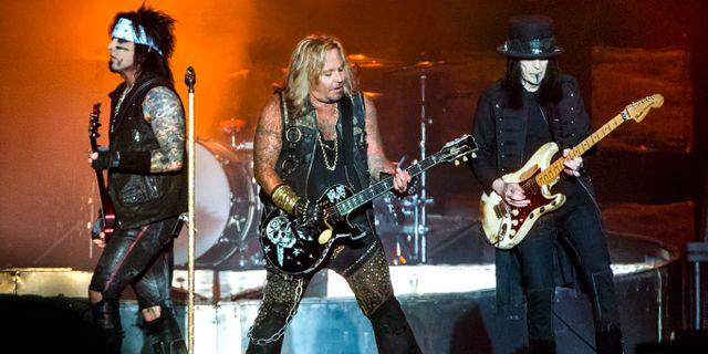 Mötley Crüe på Sweden Rock Festival 2015. Claudio Bresciani/TT / TT NYHETSBYRÅN