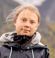 Greta Thunberg.  TT
