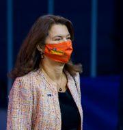 Ann Linde på EU-toppmötet förra veckan.  Jean-Christophe Verhaegen / TT NYHETSBYRÅN
