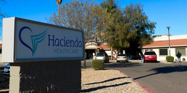 Hacienda Healthcare i Phoenix.  Ross D. Franklin / TT NYHETSBYRÅN