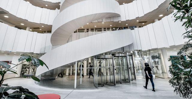 Ericssons huvudkontor.  Magnus Hjalmarson Neideman / SvD / TT / TT NYHETSBYRÅN