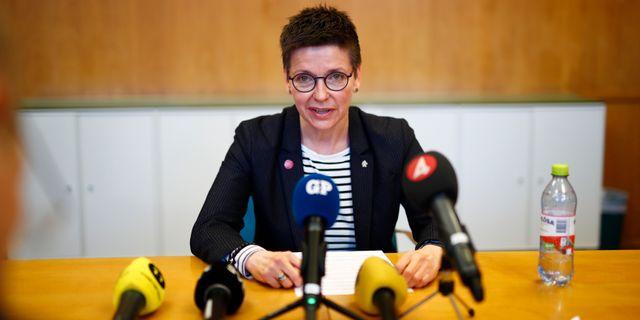 Ann-Sofie Hermansson. Thomas Johansson/TT / TT NYHETSBYRÅN