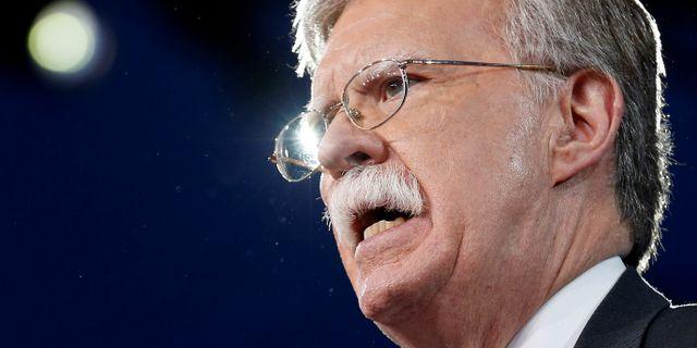 John Bolton. Joshua Roberts / TT NYHETSBYRÅN