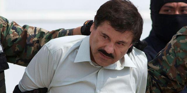 "Joaquín ""El Chapo"" Guzmán. Eduardo Verdugo / TT NYHETSBYRÅN/ NTB Scanpix"