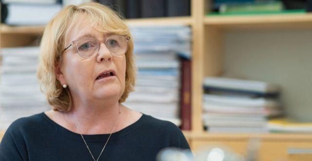 Irene Svenonius. Gustaf Månsson/SvD/TT / TT NYHETSBYRÅN