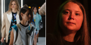 Louis Vuitton-visning/Greta Thunberg. TT
