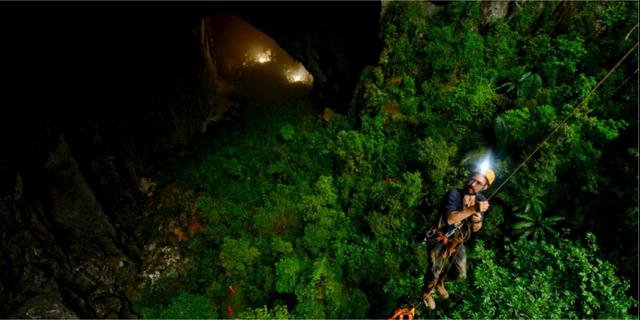 Vågar man går det också bra att klättra. sondoongcave.org