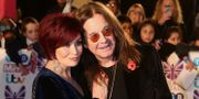 Ozzy Osbourne med sin fru Sharon. PAUL HACKETT / TT NYHETSBYRÅN