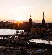 Illustrationsbild: Vy över Stockholm.  Erik Simander/TT / TT NYHETSBYRÅN