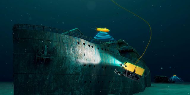 Få har kunnat se det mytomspunna fartyget med egna ögon eftersom det ligger på 3 810 meters djup, men nu får åtminstone några till möjlighet att besöka det. Getty