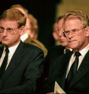 Carl Bildt och Ingvar Carlsson/Arkivbild.  Pawel Flato / SvD / TT / / TT NYHETSBYRÅN