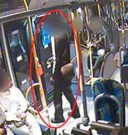 Mannen på 4:ans buss i Stockholm. Polisen