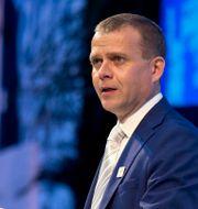 Samlingspartiets ledare Petteri Orpo. Firdia Lisnawati / TT NYHETSBYRÅN