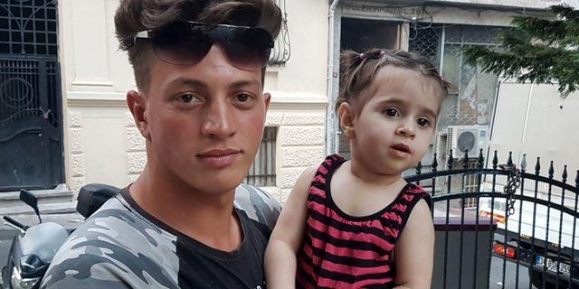 Fawzi Zabaat, 17, och det tvååriga barnet Doha Muhammed STR / DHA