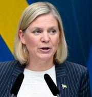 Magdalena Andersson. Ali Lorstani/TT / TT NYHETSBYRÅN