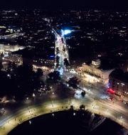 Illustrationsbild: Vy över Stockholm nattetid.  Fredrik Sandberg/TT / TT NYHETSBYRÅN
