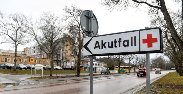 Lasarettet i Enköping.  TT NEWS AGENCY / TT NYHETSBYRÅN