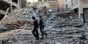 Bild från Gaza idag. SUHAIB SALEM / TT NYHETSBYRÅN