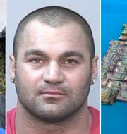 Hakan Ayik/Bilder från polisens tillslag i Nya Zeeland. TT/Australiens federala polis