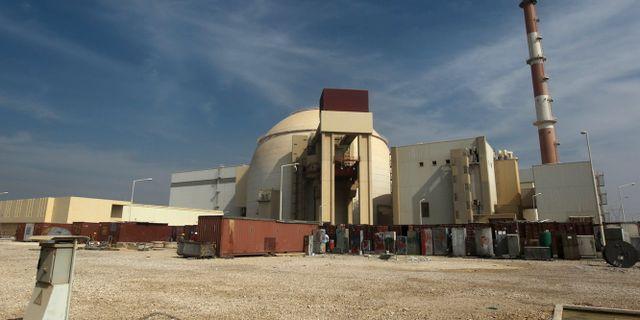 Reaktorbyggnad i Iran. Majid Asgaripour / TT NYHETSBYRÅN