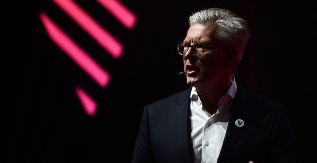 Ericssons vd Börje Ekholm.  PHILIPPE LOPEZ / AFP