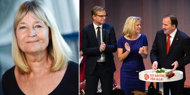 Marita Ulvskog är kritisk. TT
