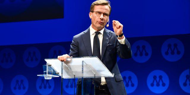 Ulf Kristersson. Linus Svensson/TT / TT NYHETSBYRÅN