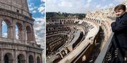 Nu öppnas Colosseums översta plan för allmänheten. AP
