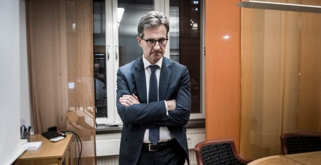Arkivbild: Finansinspektionens generaldirektör Erik Thedéen.  Magnus Hjalmarson Neideman/SvD/TT / TT NYHETSBYRÅN