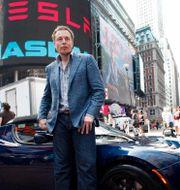 Arkivbild: Teslas vd Elon Musk. Mark Lennihan / TT NYHETSBYRÅN