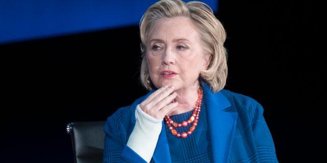 Hillary Clinton Mary Altaffer / TT / NTB Scanpix