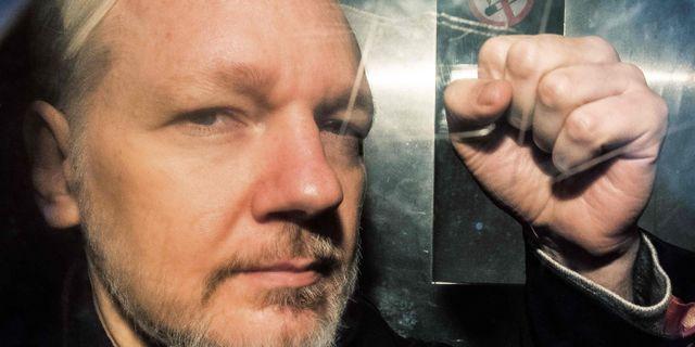 Julian Assange. Arkivbild. DANIEL LEAL-OLIVAS / AFP