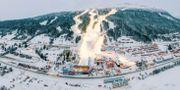 Åre vid förberedelserna inför alpina VM. JOHANN GRODER / EXPA