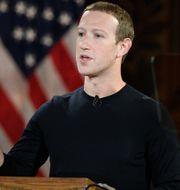 Zuckerberg. Nick Wass / TT NYHETSBYRÅN