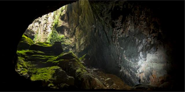 Ljusinsläppet är magisk, enligt de som varit här. sondoongcave.org