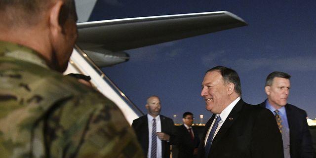 USA:s utrikesminister Mike Pompeo var i Bagdad i förra veckan efter att relationen mellan USA och Iran blivit allt mer kritisk.  TT