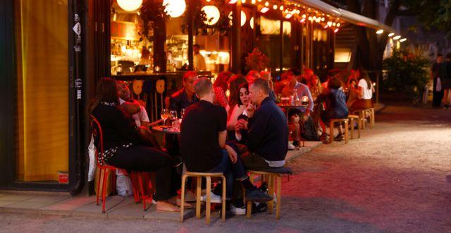 Bild från Stockholm, 1 juli.  Stefan Jerrevång/TT / TT NYHETSBYRÅN