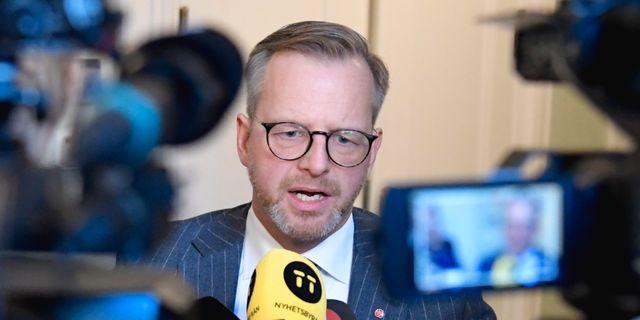 Mikael Damberg (S). Janerik Henriksson/TT / TT NYHETSBYRÅN