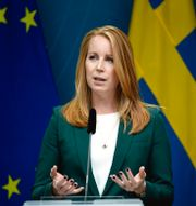Annie Lööf.  Pontus Lundahl/TT / TT NYHETSBYRÅN