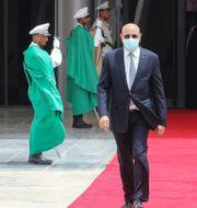 Mauretaniens president Mohamed Ould Ghazouan.  Ludovic Marin / TT NYHETSBYRÅN