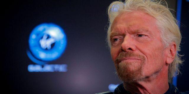 Richard Branson, grundare. Brendan McDermid / TT NYHETSBYRÅN