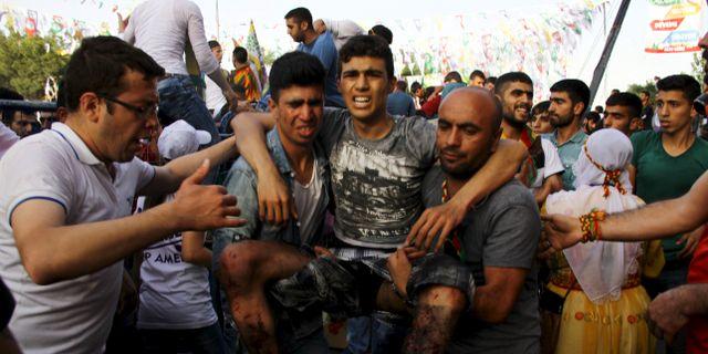 Explosion i turkiet tre personer doda