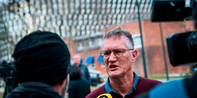 Statsepidemiolog Anders Tegnell JONATHAN NACKSTRAND / TT NYHETSBYRÅN