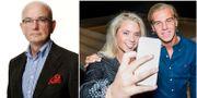 Peter Kadhammar, Josefine Caarle och Robin 'Mos' Andersson Aftonbladet, TT