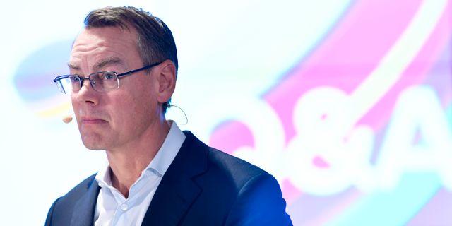 Telias tillförordnade vd Christian Luiga. Henrik Montgomery/TT / TT NYHETSBYRÅN