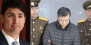 Justin Trudeau. Till höger: Hyeon Soo Lim  TT