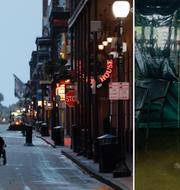 New Orleans gör sig redo för ovädret. TT