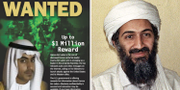 Hamza bin Ladin och Usama bin Ladin. REWARDS FOR JUSTICE, Wikipedia.