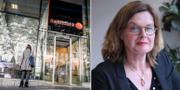 Swedbank-kontor. Katarina Tidén , överåklagare EBM. TT / Pressbild EBM